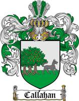 CALLAHAN FAMILY CREST - COAT OF ARMS