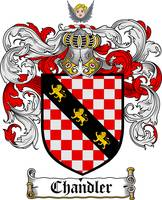 CHANDLER FAMILY CREST - COAT OF ARMS