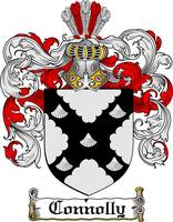 CONNOLLY FAMILY CREST - COAT OF ARMS