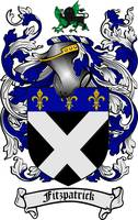 FITZPATRICK FAMILY CREST - COAT OF ARMS