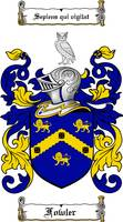 FOWLER FAMILY CREST - COAT OF ARMS