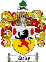 DALEY FAMILY CREST - COAT OF ARMS