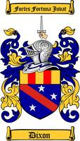 DIXON FAMILY CREST - COAT OF ARMS