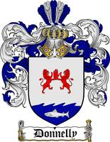 DONNELLY FAMILY CREST - COAT OF ARMS