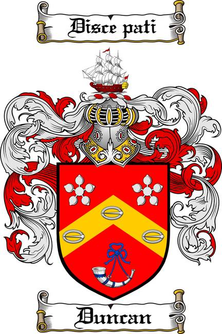 Duncan Family Crest Coat Of Arms By Family Crest
