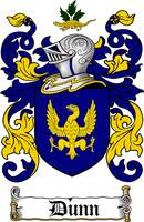 DUNN FAMILY CREST - COAT OF ARMS
