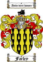 FARLEY FAMILY CREST - COAT OF ARMS