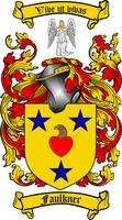 FAULKNER FAMILY CREST - COAT OF ARMS