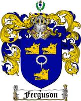 FERGUSON FAMILY CREST - COAT OF ARMS