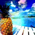 """PINNAPPLE IN PARADISE"" by Donovan2012"