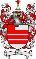 FULLER FAMILY CREST - COAT OF ARMS