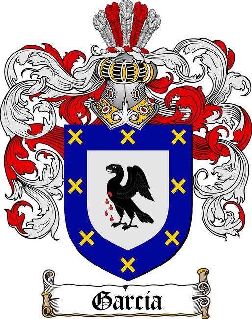 Garcia Family Crest Coat Of Arms By Family Crest