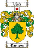 GARRISON FAMILY CREST - COAT OF ARMS