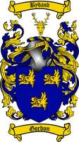 GORDON FAMILY CREST - COAT OF ARMS