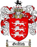 GRIFFITH FAMILY CREST - COAT OF ARMS