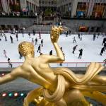 """Ice Skating In Rockefeller Center NY"" by BobJagendorf"