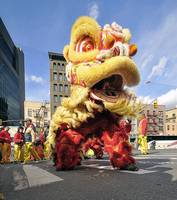 Chinese New Year NYC - Dragon Dance