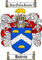 HARRIS FAMILY CREST - COAT OF ARMS