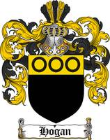 HOGAN FAMILY CREST - COAT OF ARMS