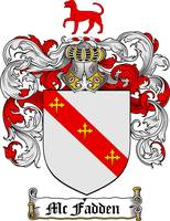 MCFADDEN FAMILY CREST - COAT OF ARMS