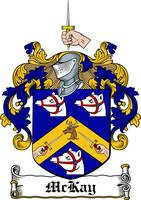 MCKAY FAMILY CREST - COAT OF ARMS