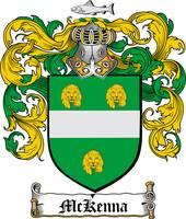 MCKENNA FAMILY CREST - COAT OF ARMS