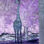 """Giraffe Abstract"" by crazyabouthercats"