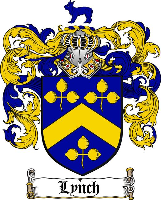 Lynch Family Crest Coat Of Arms By Family Crest
