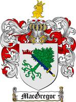 MACGREGOR FAMILY CREST - COAT OF ARMS
