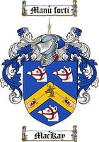 MACKAY FAMILY CREST - COAT OF ARMS