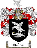 MADDEN FAMILY CREST - COAT OF ARMS