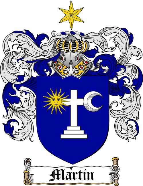 Martin Irish Family Crest Coat Of Arms By Family Crest