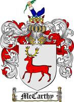 MCCARTHY FAMILY CREST - COAT OF ARMS