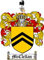 MCCLELLAN FAMILY CREST - COAT OF ARMS