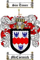 MCCORMICK FAMILY CREST - COAT OF ARMS