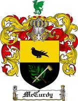 MCCURDY FAMILY CREST - COAT OF ARMS