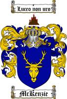 MCKENZIE FAMILY CREST - COAT OF ARMS