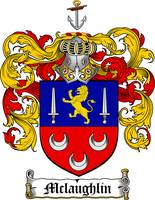 MCLAUGHLIN FAMILY CREST - COAT OF ARMS