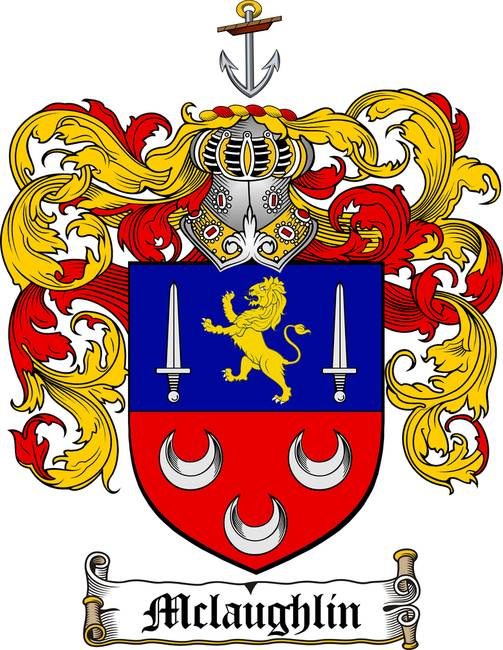 Mclaughlin Family Crest Coat Of Arms By Family Crest