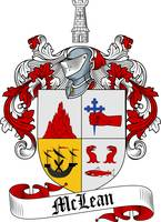 MCLEAN FAMILY CREST - COAT OF ARMS