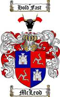MCLEOD FAMILY CREST - COAT OF ARMS