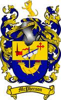 MCPHERSON FAMILY CREST - COAT OF ARMS