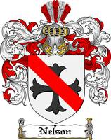 NELSON FAMILY CREST - COAT OF ARMS