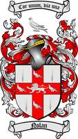 NOLAN FAMILY CREST - COAT OF ARMS