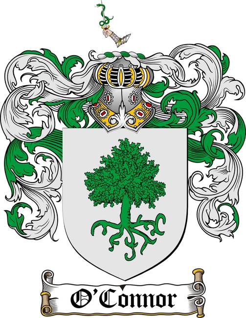 O Connor Family Crest Coat Of Arms By Family Crest