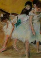 after degas/  before the exam