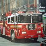 """NYFD Truck 4"" by Alford"