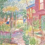 """""""West Seattle Garden"""" by KayArtiste"""