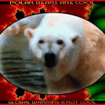 """FRACTAL POLAR BEAR ""polar bears are cool..."""" by cabinfeverdavid"