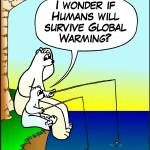 """Will Humans survive Climate Change?"" by cabinfeverdavid"